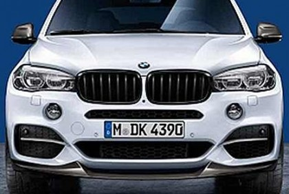 BMW M Performance Frontsplitter Carbon X5 F15