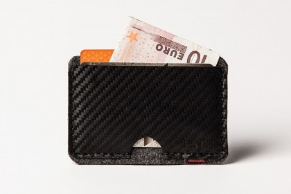 Carbon Cardholder dark grey