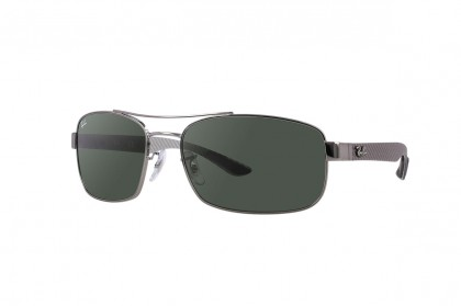 RB8316 Gunmetal Black, Green Classic