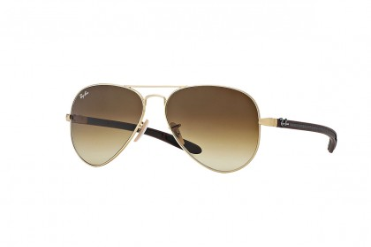 Aviator Carbon Fibre Gold