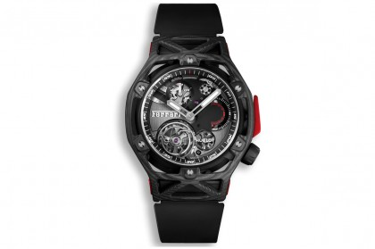 Techframe Ferrari Carbon Tourbillon Chronograph