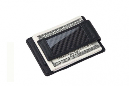 Money Clip Carbon 1365 / Black