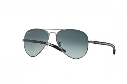 Aviator Carbon Fibre Gunmetal Black