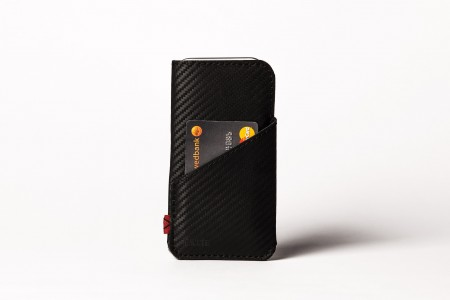 Carbon iPhone 6 / 6S slim case with pocket