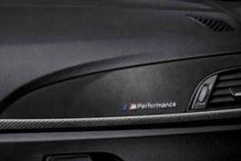 BMW M Performance Interieurleisten in Carbon mit Alcantara 4er F33