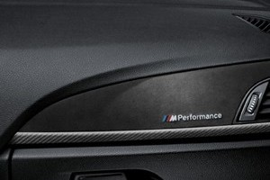 BMW M Performance Interieurleisten in Carbon mit Alcantara 4er F32