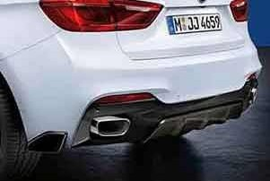 BMW M Performance Heckdiffusor Carbon X6 F16