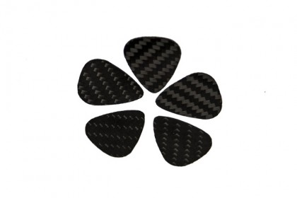 Carbon Guitar Picks
