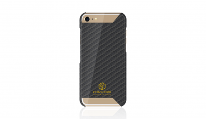 Carbon Case iPhone 8 / 7, Gloss Finish, Luxus