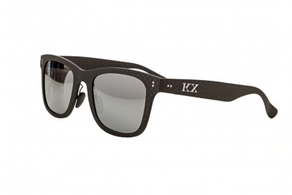 KarbonOptix Black with Deep Orange Lenses